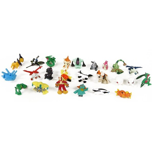 "Nintendo Pokemon Mini PVC 1"" Figure Lot Of 24 Pieces"