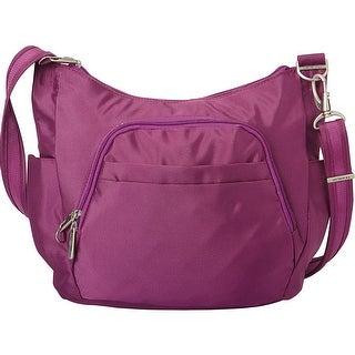 Travelon Anti-Theft Classic Corssbody Bag, Purple