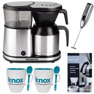 Bonavita 5-Cup Thermal Carafe Coffee Brewer w/ Knox Mug & Spoon Set Bundle