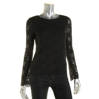 Vince Camuto Womens Casual Top Lace Lined