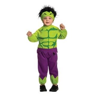 Toddler Hulk Halloween Marvel Costume Size 2T-4T
