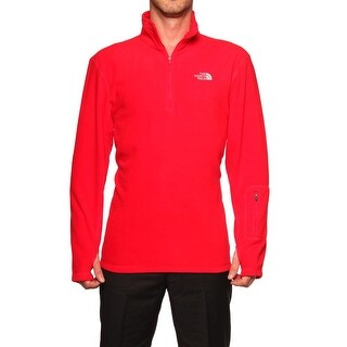 The North Face Cirriform 1/4 Zip Pullover Fleece Red