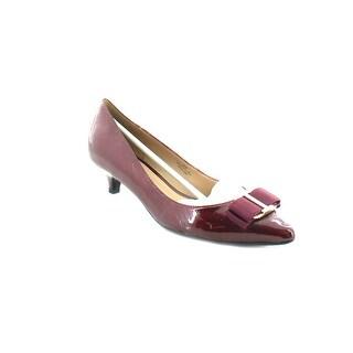 Isaac Mizrahi Gina Women's Heels Dark Red