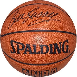Bill Russell signed Official Spalding TB NBA Leather Game Basketball (black sig)- Beckett Hologram (Boston Celtics)