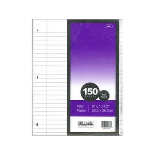 Bazic Filler Paper 150pc Wide Ruled