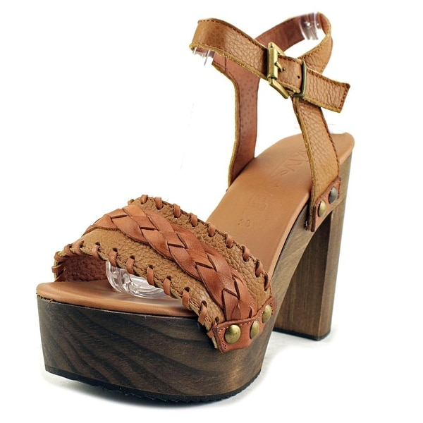 MTNG 77538 Women Cuero/Brandy Sandals