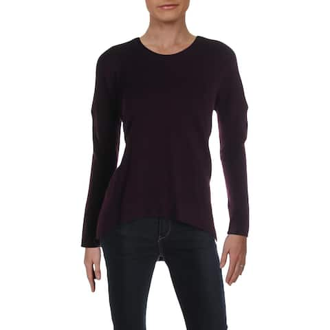 French Connection Womens Pullover Sweater Knit Mockneck - Wine - XS