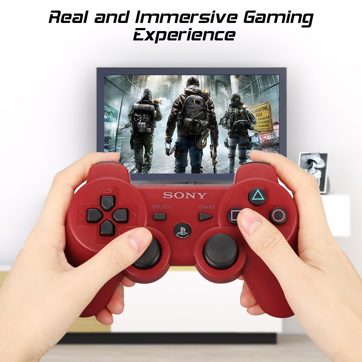 Sony Dualshock 3 PS3 Wireless Controller Playstation 3 Games Remote Control  Bluetooth Sixaxis Gamepad