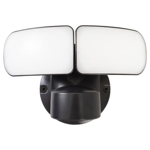"2200 Lumen LED Security Light - Dusk to Dawn - 7.25"" D x 7"" W x 8.75"" H - 7.25"" D x 7"" W x 8.75"" H"
