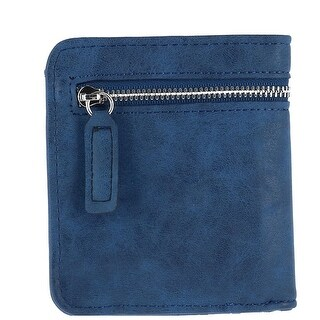 CTM® Women's RFID Protected Compact Bifold Wallet - One size (More options available)