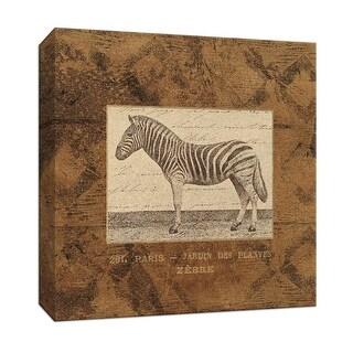 "PTM Images 9-153068  PTM Canvas Collection 12"" x 12"" - ""Zebra"" Giclee Safari Animals Art Print on Canvas"