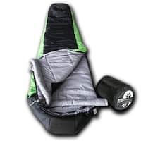 Wolftraders LoneWolf +20 Degree Fahrenheit Premium Ripstop Mummy Sleeping Bag with Xfil