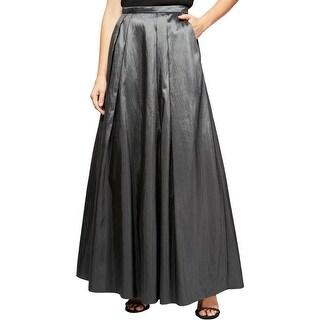 Alex Evenings Womens Maxi Skirt A-Line Long - XL