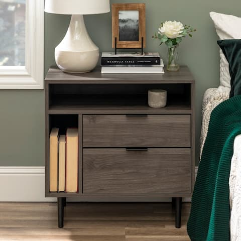 Carson Carrington 25-inch Modern Storage Nightstand
