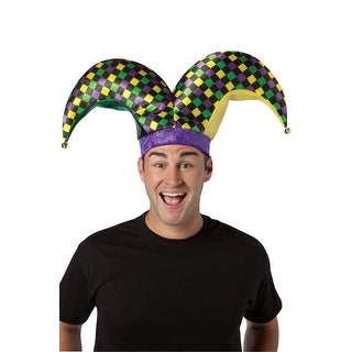 Rasta Imposta Two-Prong Jester Hat - Solid