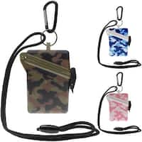 Witz Surfsafe Camo Lightweight Waterproof Sport Case with Lanyard and Carabiner - One Size