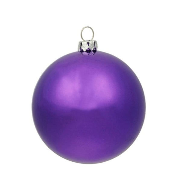 "Huge Shiny Purple Commercial Shatterproof Christmas Ball Ornament 15.75"" (400mm)"
