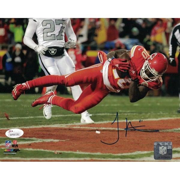 5a0b7d1e Tyreek Hill Autographed Kansas City Chiefs 8x10 Photo JSA