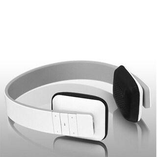 Aluratek Bluetooth Wireless Headphones - Retail Packaging - White