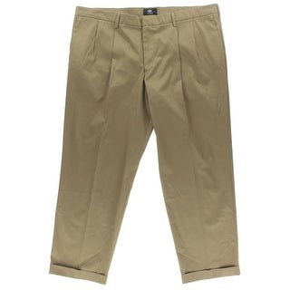 Dockers Mens Casual Pants Flat Front Relaxed Fit - 36/32