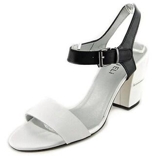 Vaneli Candida Open-Toe Leather Slingback Sandal