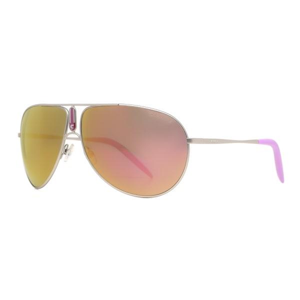 Carrera Gipsy/S 011/VQ Palladium Orange Infrared Aviator Sunglasses - 64mm-11mm-125mm