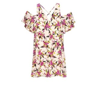 Bobeau Mary Cold Shoulder Dress