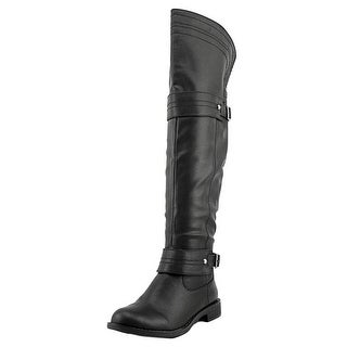 American Rag Mila Women Round Toe Synthetic Black Over the Knee Boot