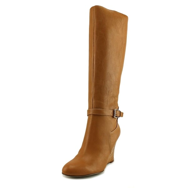 Nine West Ovata Round Toe Synthetic Knee High Boot