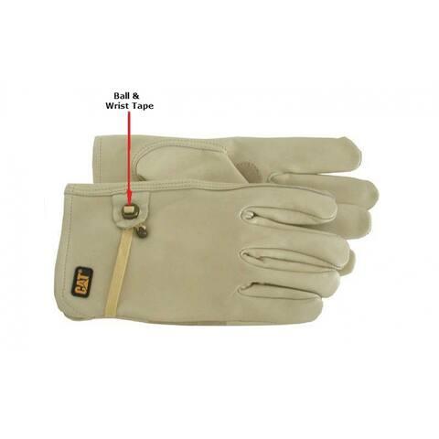 Cat CAT012110J Men's Unlined Leather Driver Glove, XL