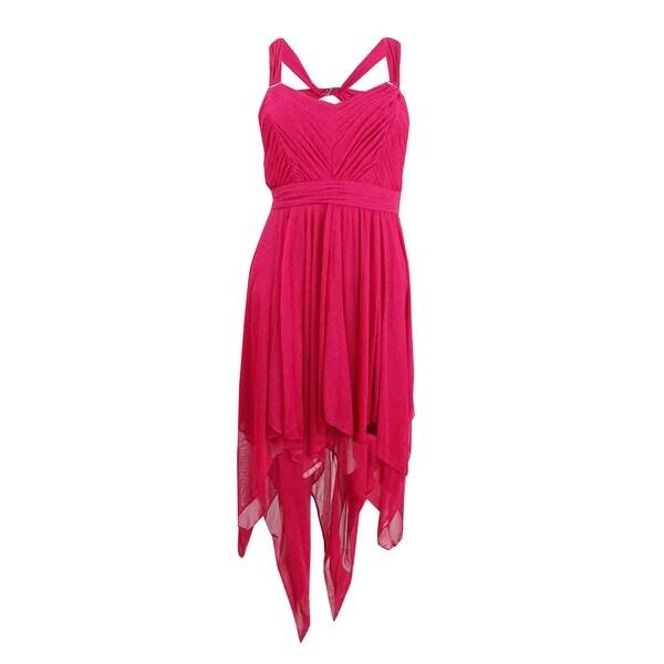 30434a1e82b Shop Hailey Logan Juniors  Handkerchief-Hem Dress (3 4
