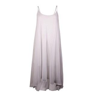Bleu Rod Beattie Women's Pleated Asymmetrical Dress Cover Up