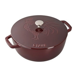 Link to Staub Cast Iron 3.75-qt Essential French Oven Rooster Similar Items in Cookware