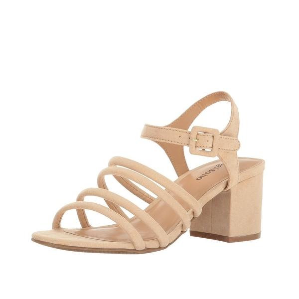 ZIGIny Gladys Block Heel Sandals Nude - 7 b(m)