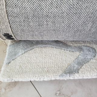 nuLOOM New Zealand Wool/ Viscose Zebra Area Rug