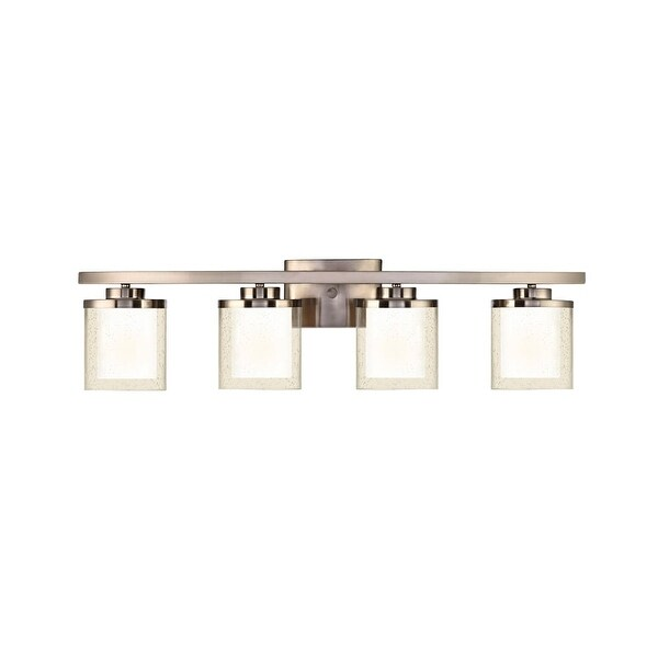 Dolan Designs 3954 Horizon 4 Light Bathroom Fixture - satin nickel