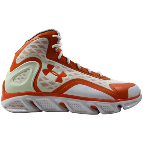 Under Armour UA TB Spine Bionic White/Orange 1240728-800 Men's