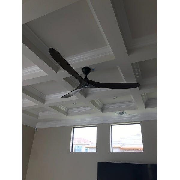Monte Carlo Maverick Max 70 Inch Black Ceiling Fan   Free Shipping Today    Overstock   19005691