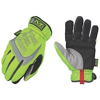 Mechanix Wear 742544 SFF-91-012 12 Hi-Viz Glove, Yellow - 2XL