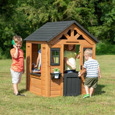 Backyard Discovery Sweetwater Wooden Playhouse