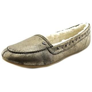Roxy Women's Cherokee II Sherpa Lined Slip-On Loafers