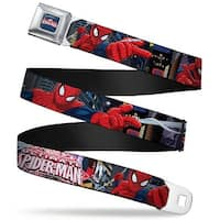 Ultimate Spider Man ultimate Spider Man Web Full Color The Ultimate Spider Seatbelt Belt