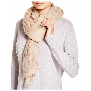 Echo Design Ladies Roving Spacedye Beige Wrap Scarf - One Size