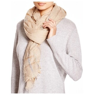 Echo Design Ladies Roving Spacedye Beige Wrap Scarf