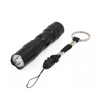 3W Mini Portable Black Waterproof White LED Lamp Bicycle Flash Torch Light