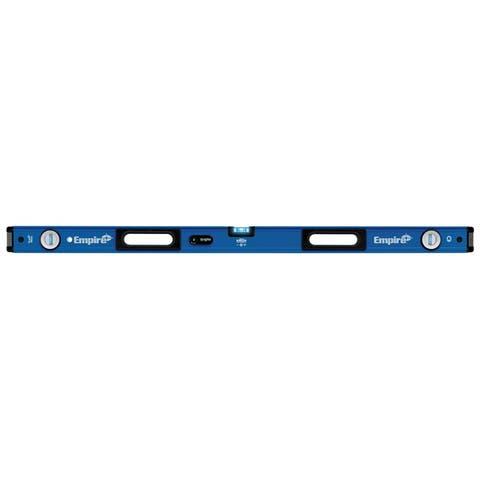 "Empire EM95-48 TRUE BLUE UltraView LED Magnetic Box Level, 48"""