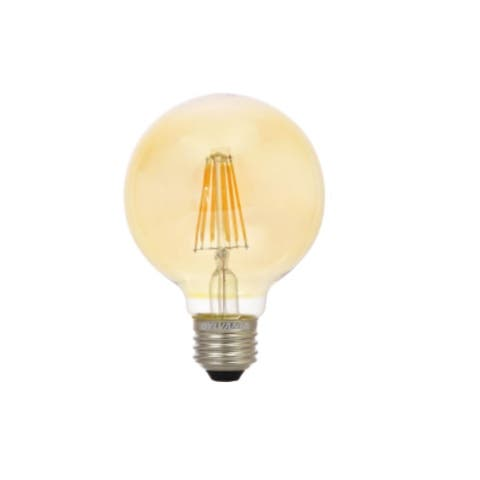 Sylvania 79586 G25 Dimmable Globe Light Bulb, 4.50 Watts, 120 Volts