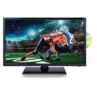 22 Inch Naxa NTD-2255 12 Volt AC/DC Widescreen LED 1080p HDTV ATSC Digital Tuner with DVD Player