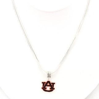 Auburn University Enamel Logo Necklace