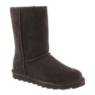 Bearpaw Women's Elle Short Boot Chocolate II Suede
